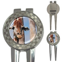 Cute Giraffe Golf Pitchfork & Ball Marker by AnimalLover
