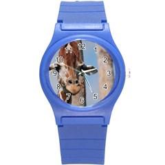 Cute Giraffe Plastic Sport Watch (Small) by AnimalLover