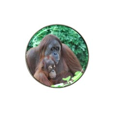 Orangutan Family Golf Ball Marker 10 Pack (for Hat Clip) by AnimalLover