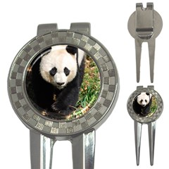 Giant Panda Golf Pitchfork & Ball Marker by AnimalLover
