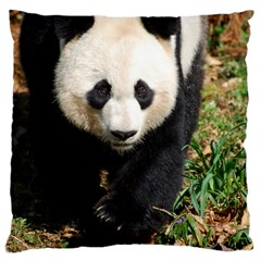 Giant Panda Large Cushion Case (two Sided)  by AnimalLover