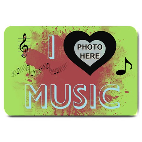 Music Large Door Mat #2 By Joy Johns   Large Doormat   Sjeqz2fmh74q   Www Artscow Com 30 x20 Door Mat - 1