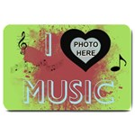 Music large door mat #2 - Large Doormat