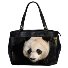 Adorable Panda Oversize Office Handbag (two Sides) by AnimalLover