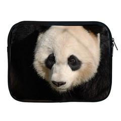 Adorable Panda Apple Ipad Zippered Sleeve by AnimalLover