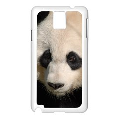 Adorable Panda Samsung Galaxy Note 3 N9005 Case (White) by AnimalLover