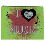 Music XXXL cosmetic bag - Cosmetic Bag (XXXL)
