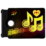 Music Kindle Flip 360 case - Kindle Fire HD Flip 360 Case