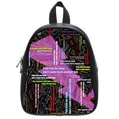 Pain Pain Go Away School Bag (small) by FunWithFibro