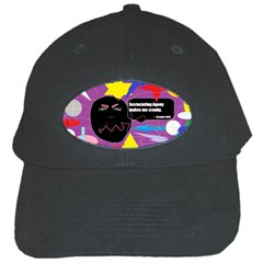 Excruciating Agony Black Baseball Cap by FunWithFibro
