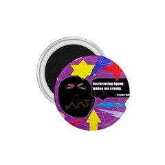 Excruciating Agony 1 75  Button Magnet by FunWithFibro
