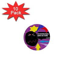 Excruciating Agony 1  Mini Button (10 Pack)