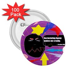 Excruciating Agony 2 25  Button (100 Pack) by FunWithFibro