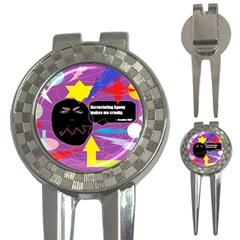 Excruciating Agony Golf Pitchfork & Ball Marker by FunWithFibro