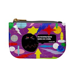 Excruciating Agony Coin Change Purse by FunWithFibro