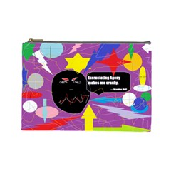 Excruciating Agony Cosmetic Bag (large) by FunWithFibro