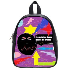 Excruciating Agony School Bag (small) by FunWithFibro