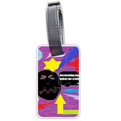 Excruciating Agony Luggage Tag (two Sides) by FunWithFibro