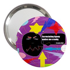 Excruciating Agony 3  Handbag Mirror