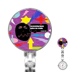 Excruciating Agony Stainless Steel Nurses Watch by FunWithFibro