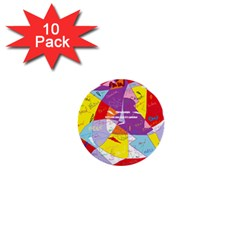Ain t One Pain 1  Mini Button (10 Pack) by FunWithFibro