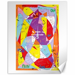 Ain t One Pain Canvas 16  X 20  (unframed) by FunWithFibro