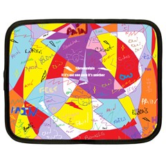 Ain t One Pain Netbook Sleeve (large) by FunWithFibro