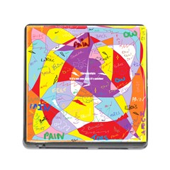 Ain t One Pain Memory Card Reader With Storage (square) by FunWithFibro