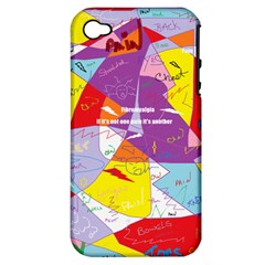 Ain t One Pain Apple Iphone 4/4s Hardshell Case (pc+silicone) by FunWithFibro