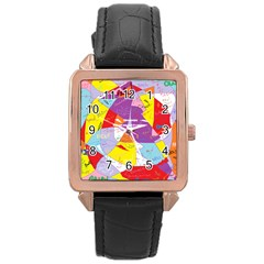Ain t One Pain Rose Gold Leather Watch  by FunWithFibro