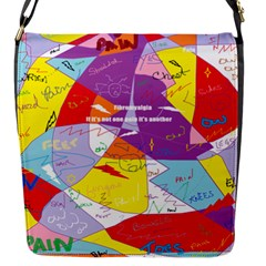 Ain t One Pain Flap Closure Messenger Bag (small) by FunWithFibro