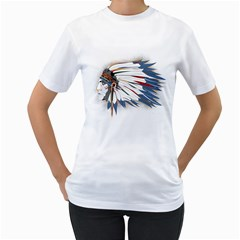 Chief Women s T-Shirt (White)  by Contest1807839