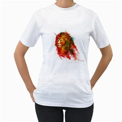 King of Imaginary Beasts Women s T-Shirt (White)  by Contest1885123