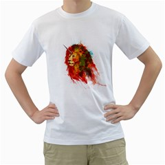 King Of Imaginary Beasts Men s T Shirt (white)  by Contest1885123