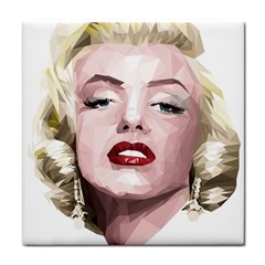 Marilyn Ceramic Tile by malobishop