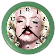 Marilyn Wall Clock (color)