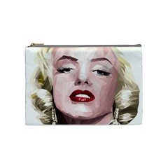 Marilyn Cosmetic Bag (medium) by malobishop