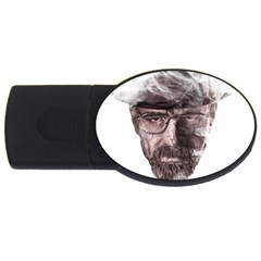 Heisenberg  1GB USB Flash Drive (Oval) by malobishop