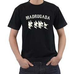 Madrugada Men s T-shirt (Black) by chivieridesigns