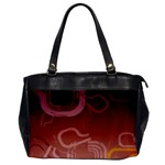 Urban Grunge Abstract 1 Oversize Office Handbag (One Side)