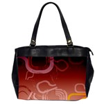 Urban Grunge Abstract 1 Oversize Office Handbag (Two Sides)