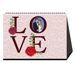 Love By Joely   Desktop Calendar 8 5  X 6    Zbea7m9di60r   Www Artscow Com Cover