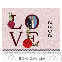 Love 2015 By Joely   Wall Calendar 8 5  X 6    0ostp7v4hail   Www Artscow Com Cover