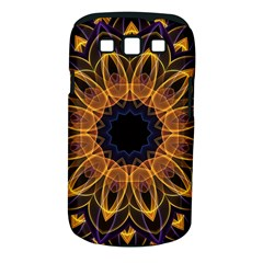 Yellow Purple Lotus Mandala Samsung Galaxy S Iii Classic Hardshell Case (pc+silicone) by Zandiepants