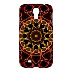 Yellow And Red Mandala Samsung Galaxy S4 I9500/i9505 Hardshell Case by Zandiepants