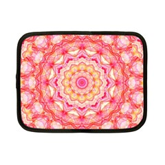 Yellow Pink Romance Netbook Sleeve (small) by Zandiepants