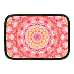 Yellow Pink Romance Netbook Sleeve (medium) by Zandiepants