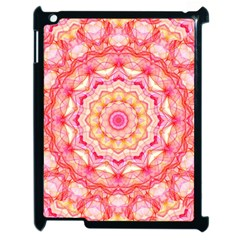 Yellow Pink Romance Apple Ipad 2 Case (black) by Zandiepants