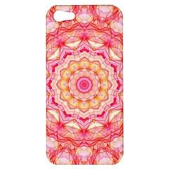 Yellow Pink Romance Apple Iphone 5 Hardshell Case by Zandiepants