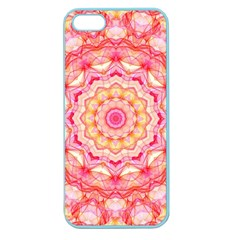 Yellow Pink Romance Apple Seamless Iphone 5 Case (color) by Zandiepants